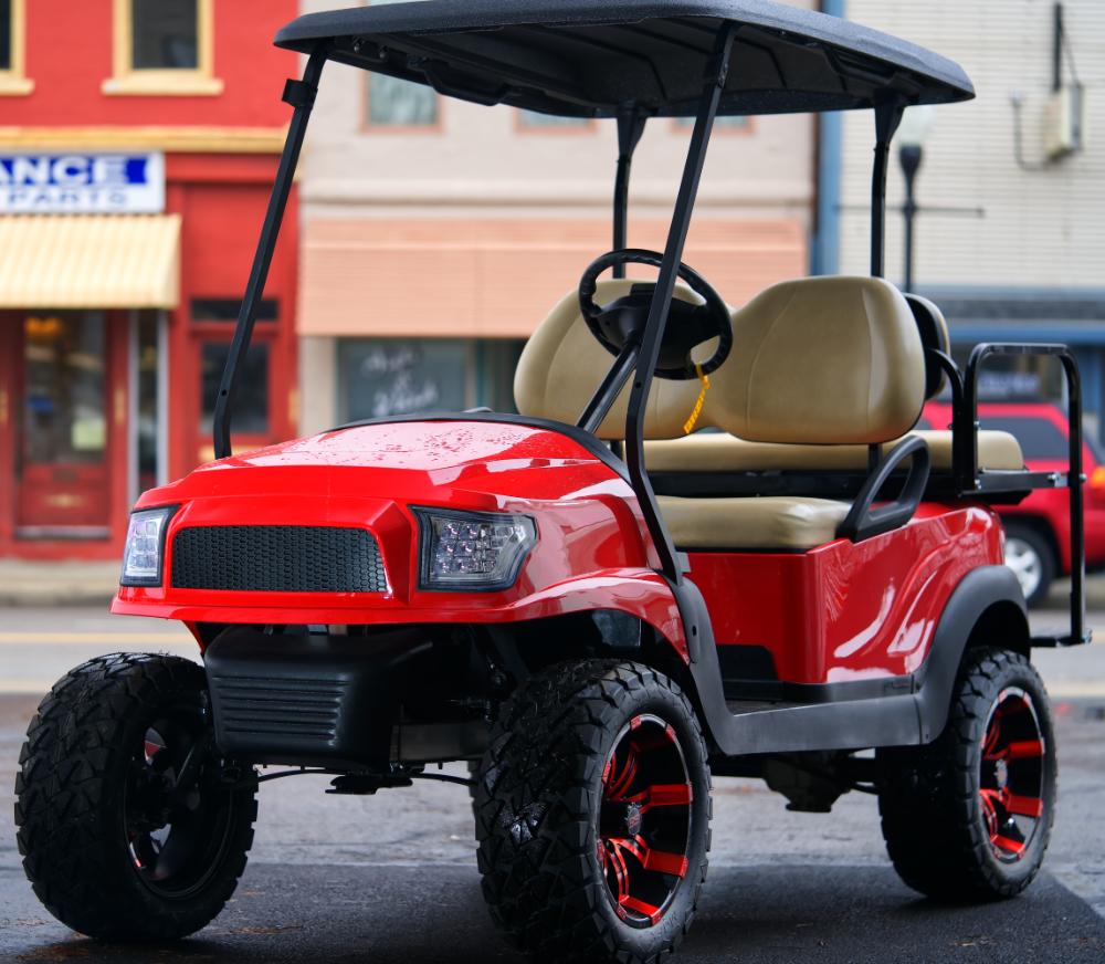 2015 Club Car Precedent Alpha Electric Golf Cart Buckeye Pro Golf