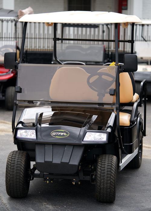 2019 Starev Electric Black Street Ready Golf Cart Buckeye Pro Golf